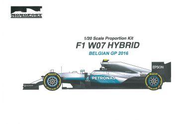 Mercedes F1 W06 Hybrid Austrian GP 2015 1/24 - Studio27/ Monopost - MP029