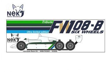 Williams FW07D 6-wheel testcar 1982 1/20. Neko Models - NEK-FK2025