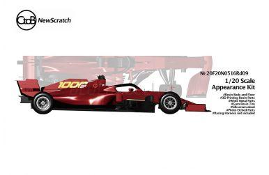 Ferrari SF1000 Toscana Grand Prix 2020 1/20 - NewScratch - NS-20F20N0516RD09
