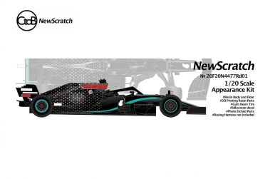 Mercedes F1 W11 EQ Performance Austrai Grand Prix 2020 1/20 - NewScratch - NS-20F20N4477RD01