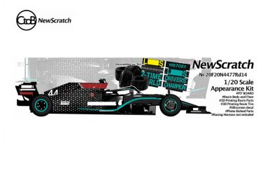 Mercedes F1 W11 EQ Performance Turkey Grand Prix 2020 1/20 - NewScratch - NS-20F20N4477RD14