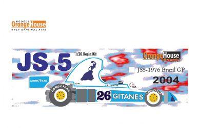 Ligier JS Late Version 1977/1978 1/20 - Studio27 - ST27-FK20276
