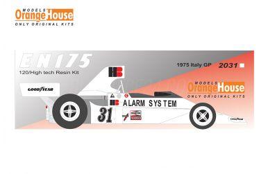 Ensign EN175 Italy Grand Prix 1975 1/20 - Models Orange House - ORA-2031