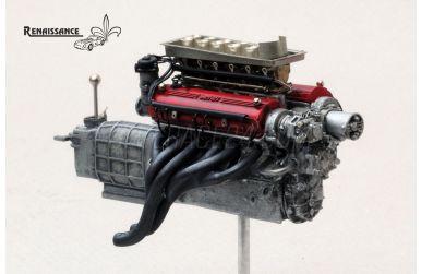 Ferrari 250 Testa Rossa Engine Kit 1959-1960 1/24 - Renaissance - REN-24/ENG1