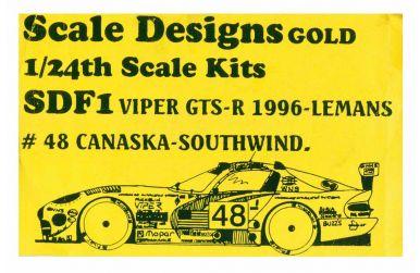 Dome S-101 Judd Team Holland 7 Team Goh Le Mans 2001 - Sakatsu - SAK-5012