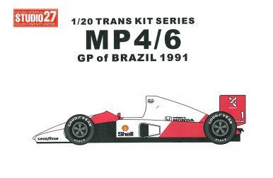 McLaren MP4/13 Australia GP 1997 - Transkit - Studio27 - ST27-TK2011R