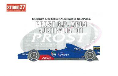 Prost AP04 Monaco GP 2001 1/20 - Studio27 - ST27-AP2007