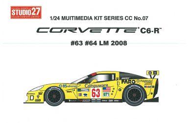 Corvette C6-R - Le Mans 2010 #63 / #64 - 1/24 - Studio 27 - ST27-CC2412