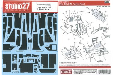 Sauber-Mercedes C9 Carbon Decals 1/24 - Studio 27 - ST27-CD24030