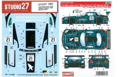 Mercedes SLS GT3 Russian Team #70 Monza 2015 - Studio27 - ST27-DC1096