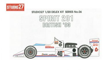 Spirit 201 British Grand Prix 1983 1/20 - Studio27 - ST27-DX2006