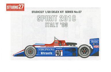 Spirit 201C Italy Grand Prix 1983 1/20 - Studio27 - ST27-DX2007
