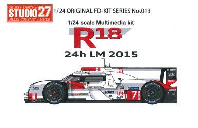 Audi R18 e-tron quattro #7 #8 #9 Le Mans 2015 - Studio27 - ST27-FK24013