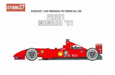 Ferrari F2001 Japan GP - Studio 27 - ST27-FK20103
