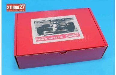 Ferrari F1/87 Suzuka GP 1987 1/20 - Studio27 - ST27-FK2001