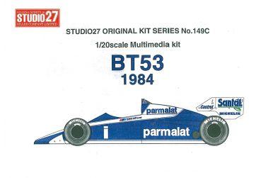 Brabham BT53 BMW 1984 1/20 - Studio27 - ST27-FK20149
