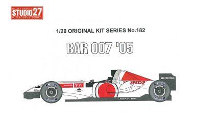 BAR 001 later version 1999 1/20 - Studio 27 - ST27-FK20236