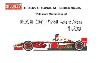 BAR 001 later version 1999 1/20 - Studio 27 - ST27-FK20236