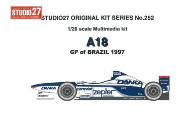 Arrows A18 GP of Brazil 1997 1/20