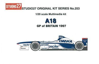 Arrows A18 GP of Britain 1997 1/20