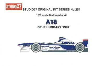 Arrows A18 GP of Hungary 1997 1/20