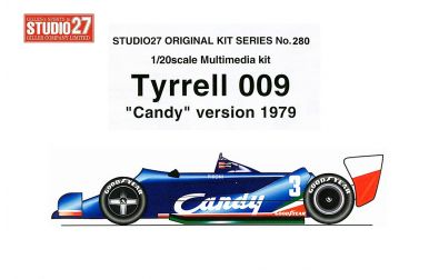 "Tyrrell 009 ""Candy""-Version 1979 1/20 - Studio27 - ST27-FK20280"
