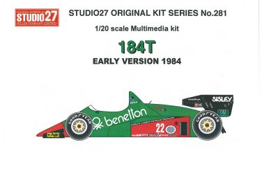Alfa Romeo 184T Late Version 1984 1/20 - Studio 27 - FK20828