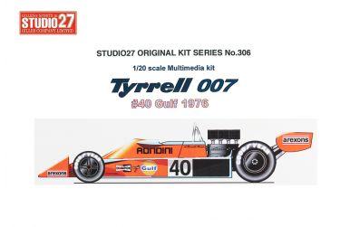 Tyrrell 007 Late Version 1975 1/20 - Studio27 - ST27-FK20304