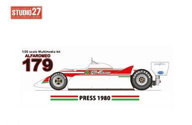 AGS JH22 #14 Monaco GP 1987 1/20 - Wolf Kits - GP20082