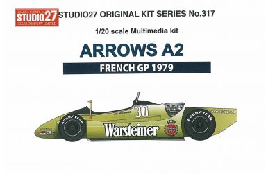 Arrows A2 French GP 1979 1/20 - Studio27 - ST27-FK20317
