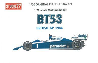 Brabham BT53 BMW British Grand Prix 1984 1/20 - Studio27 - ST27-FK20321