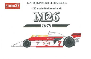 Williams FW08 German GP 1982 1/20 - Studio27- ST27-DX2046
