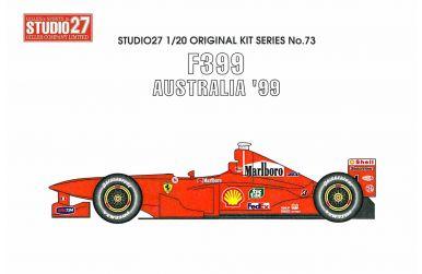 Ferrari F399 Australia Grand Prix 1999 1/20 - Studio27 - ST27-FK2073
