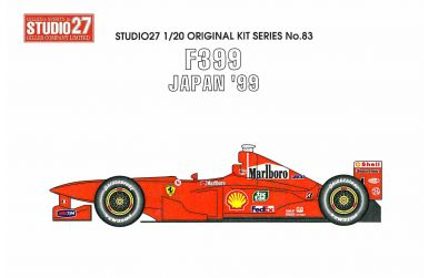 Ferrari F399 Japan Grand Prix 1999 1/20 - Studio27 - ST27-FK2083