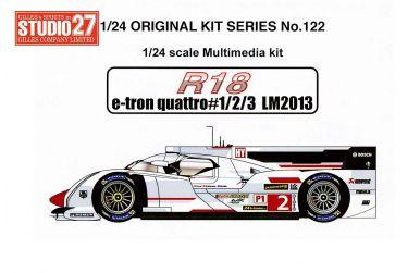 Audi R18 e-tron quattro Le Mans 24 Hours 2013 1/24 - Studio27 - ST27-FK20122