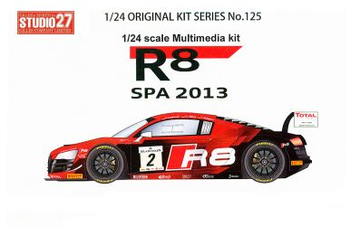 Audi R8 LMS ultra #2 Spa 2013 - Studio27 - ST27-FK24125