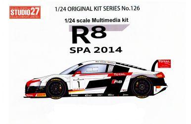 Audi R8 LMS Ultra Spa 2014 #1 #2 - Studio27 - ST27-FK24126