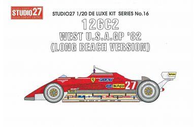 Ferrari 126C2 South Africa GP 1982 1/20 - Studio27 - ST27-DX2014
