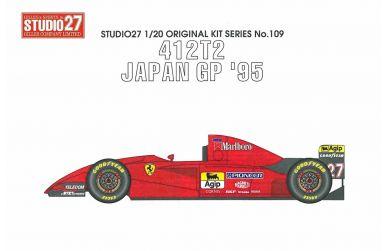 Ferrari 412 T2 Japan GP 1995 1/20 - Studio 27 - ST27-FK2019