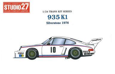 Porsche 935K1 Kremer Silverstone 1976 1/24 - Studio27 - ST-TK2467