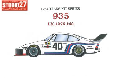 Porsche 935 Martini #40 Le Mans 1976 1/24 - Studio27 - ST27-TK2473
