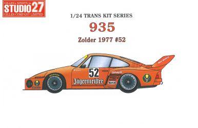 Porsche 935 Vaillant #51 Zolder 1977 1/24 - Studio27 - ST27-TK2474