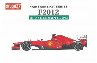 Ferrari F2012 Jajan GP 2012 Transkit 1/20 - Studio27 - ST27-TK2050