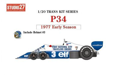 Tyrrell P34 International Trophy 1976 Transkit 1/20 - Studio 27 - ST27-TK2069