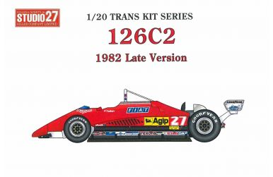 Ferrari 126C2 South Africa GP 1982 1/20 - Studio27 - ST27-DX2014