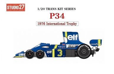 Tyrrell P34 International Trophy 1976 Transkit 1/20 - Studio 27 - ST27-TK2069
