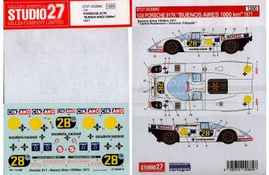 Porsche 917K Buenos Aires 1971 1000km #28