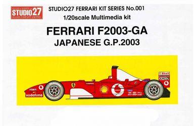 Ferrari 2003-GA - Studio27 - ST27-FR2001