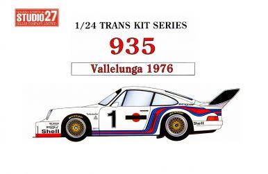 Porsche 935 Vallelunga 1976 1/24 - Studio27 - ST27-TK2466