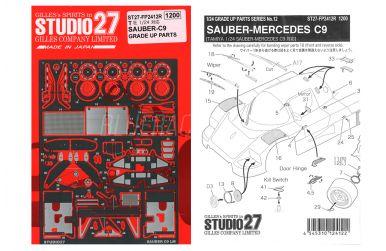 Sauber-Mercedes C9 Fotoätzteile - Studio 27 - ST27-FP2412R